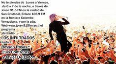 #Radio #OnLine #Musica #Rock #Pop #passion #juventus #program #Electronica #Dance #LosInfiltrados #Neon #New #2015 #LunaVier #ReysonRosas #JavierDelgado #LuisContreras #Best #More #Power #Designe #Live #Pasion #Joven91.5fm #Enlace105.9fm #Tachira #SanCristobal #Frontera #Venezuela #Colombia #Cucuta #Pamplona #Chinacota #NorteDeSantander #sc #vzla #word #colors #eyes #international #thebest #crystalcastles #aliceglass
