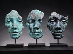 Fragmented : 12 September – 4 October 2013 at Rook & Raven Gallery, London. Sculptures Céramiques, Art Sculpture, Pottery Sculpture, Contemporary Sculpture, Contemporary Art, Arte Fashion, Sculpture Projects, Wow Art, Art Moderne