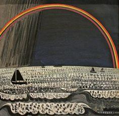Jean BRUSSELMANS (1884-1953)  Arc-en-ciel, 1932