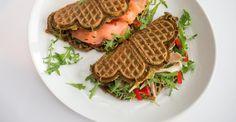 Oppskrift på grønnsaksvafler Paleo Recipes, Food Inspiration, Breakfast, Morning Coffee, Against All Grain