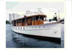 Classic Yachts, Classic Boat, Old Boats, Classic Motors, Motor Boats, Luxury Yachts, Wooden Boats, Boat Building, South Florida