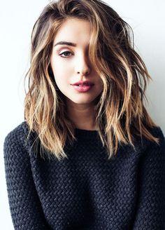 New medium hair cuts - http://new-hairstyle.ru/new-medium-hair-cuts/ #Hairstyles…
