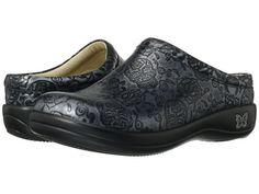Alegria Kayla Professional Clog leather pewter skulls(NA), bullseye, black droplet, black nappa, black patent(NA), black splash(NA), country strong(NA), doily, blue droplet, gravy, special serpent(NA), storm patent(NA), blue valentine, bubble trouble 1.5h sz37 119.95