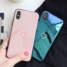#Valentines #AdoreWe #YesStyle - #Casei Colour Heart Print Phone Case For iPhone 6 / 6 Plus / 7 / 7 Plus / 8 / 8 Plus / X - AdoreWe.com