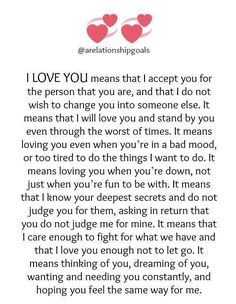 U hv done this for me. I reciprocate this act of love..