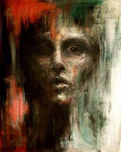 Painting by Lone Malmgren Original Paintings, Canvas, Art, Tela, Canvases, Kunst, Art Education, Burlap, Artworks