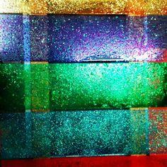 Glitter polycarb pan