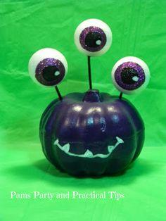 How to make a monster pumpkin