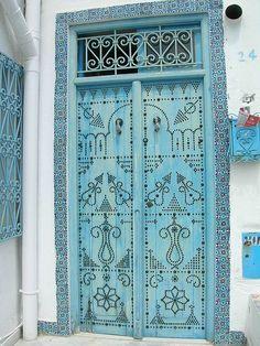 Tunisian door.