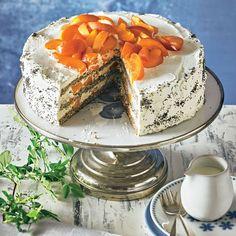 Aprikosen-Mohn-Torte | BRIGITTE.de