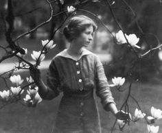 Edna St. Vincent Millay, Vassar Class of 1917, the first woman to win a Pulitzer Prize for poetry