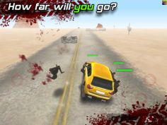 Top iPhone Game #182: Zombie Highway - Auxbrain, Inc. by Auxbrain, Inc. - 03/22/2014