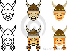 Fantasy Line Icons Stock Photos, Images, & Pictures – (167 Images)