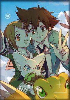 ^-^ awe! Siblings! Tai and Kari Kamiya