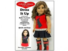 American Girl doll clothes pattern Dress it Up! | Liberty Jane Doll Clothes Patterns For American Girl Dolls $3.99