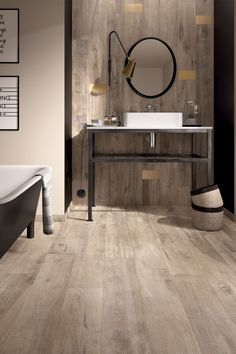 Lighter flooring helps brighten up a space and can expand a room.