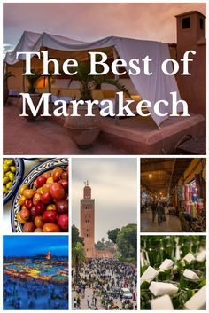 The Best of Marrakech, Morocco | If you want a vacation that will feel like an adventure, a visit to Marrakech is a must. And here are some of the top things you should do when exploring. | The Planet D Adventure Travel Blog