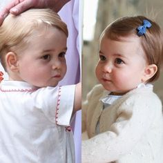 The little prince and princess - (George and Charlotte of Cambridge)