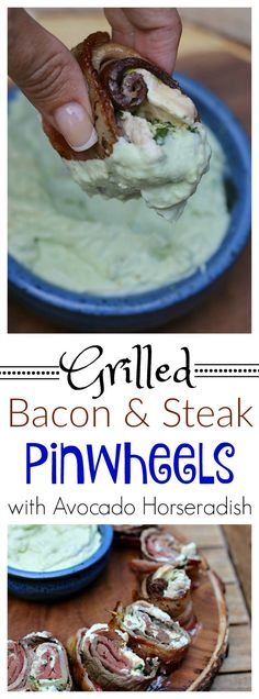 Grill up BIG flavor with these easy to make bacon and steak pinwheels! #GrillLegendary #ad