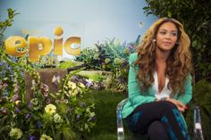Beyonce's Movie Epic is scheduled to come out this Friday May 24th.  In the movie she play a Queen.  Animated films are great for the whole family| Photographed by Yosra El-Essawy