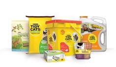 Looking for the purrrfect litter for your kitty? Try union-made Tidy Cats, Yesterday's News, or other effective cat litter solutions from Purina. Made by USW members, Purina brand litter is definitely the cat's meow.