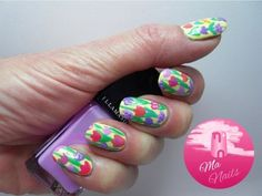 Spring Tulip Nails #nails #inspiration #nailart - bellashoot.com