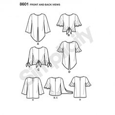8601 - New Collection - Simplicity Patterns