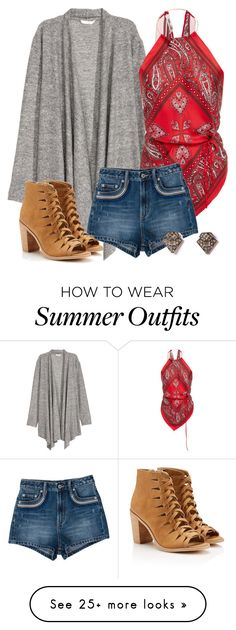"""""""Rebekah Inspired Summer Outfit - The Vampire Diaries / The Originals"""" by fangsandfashion on Polyvore featuring Diane Von Furstenberg and Tularosa"""