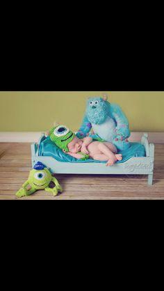 Monsters Inc photo shoot