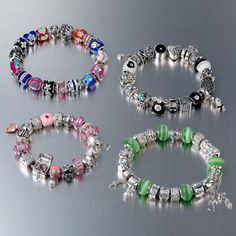Donna Mia Bracelets & Charms available at Silver Company! We have stores in Eastgate Shopping Centre, Centurion Mall and Rosebank Mall! Charm Bracelets, Beaded Bracelets, Pandora Charms, Mall, Centre, Charmed, Silver, Shopping, Jewelry