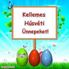 Kellemes Húsvéti Ünnepeket! - Megaport Media Easter Eggs, Watch, Halloween, Awesome, Box, Clock, Snare Drum, Bracelet Watch, Clocks
