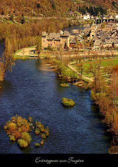 Entraygues-sur-Truyère, France