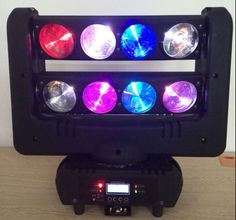 WLED 1-1 New Infinite rotating spider light 8x10w rgbw-1 led beam bar moving head light  Email:sales02@wavestage.net https://www.facebook.com/wavelighting1 http://www.wavestage.net/