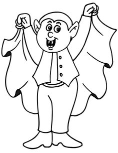 Printable Dracula Coloring Pages Ideas For Kids Crafts Pinterest