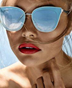 443bac716fa67 blogmoderne. Cat Eye SunglassesMirrored ...