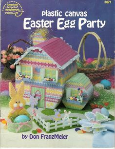 easter tissue covers plastic canvas - Google Search