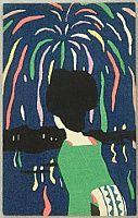 Yumeji Takehisa 1884-1934 - Fireworks