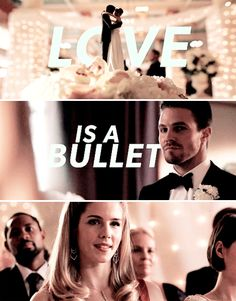 Love is a bullet in the brain #Arrow