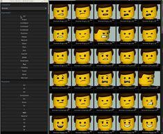 lego minifigure face - Google Search