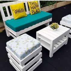 DIY Recycled Wood Pallet Ideas for Projects And Carfting Ideas Wooden Pallet Projects, Woodworking Projects Diy, Wooden Pallets, Pallet Ideas, Wooden Diy, Pallet Wood, Woodworking Plans, Pallet Garden Furniture, Diy Furniture