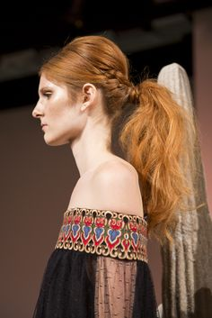 The Best Braids from NYFW Spring 2016 - Alice Olivia-Wmag