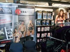 Leather fetish clothing and BDSM at German Fetish Fair by Ledapol
