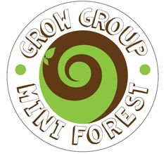 The Mini Forest has a logo #SouthAfrica #helloWorld #trees #seeds #milliontreecampaign #growgroup