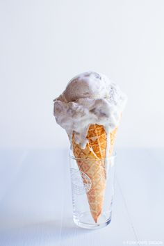 Apple Cinnamon Ice Cream | Fork Knife Swoon