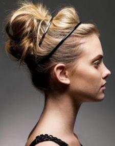 bridesmaid hair idea