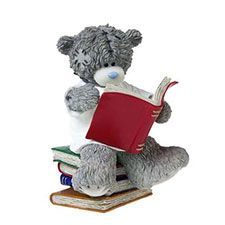 Encouraging Great Minds Me to You Bear Figurine