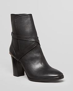 Tory Burch gold and strap ankle boots #currentlyobsessed