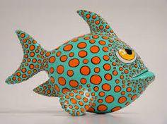 Bildergebnis für fish papier mache