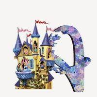 Alfabeto de Princesas Disney.