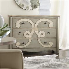 Hooker scroll chest for my master bedroom